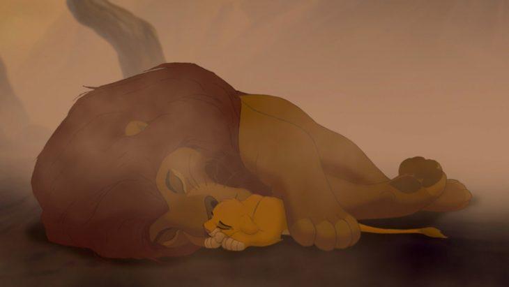 muerte de mufasa