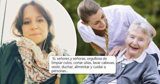 Cover La carta de una auxiliar de enfermería se vuelve viral