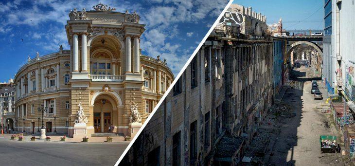 lo bonito y lo feo de Odessa, Ucrania