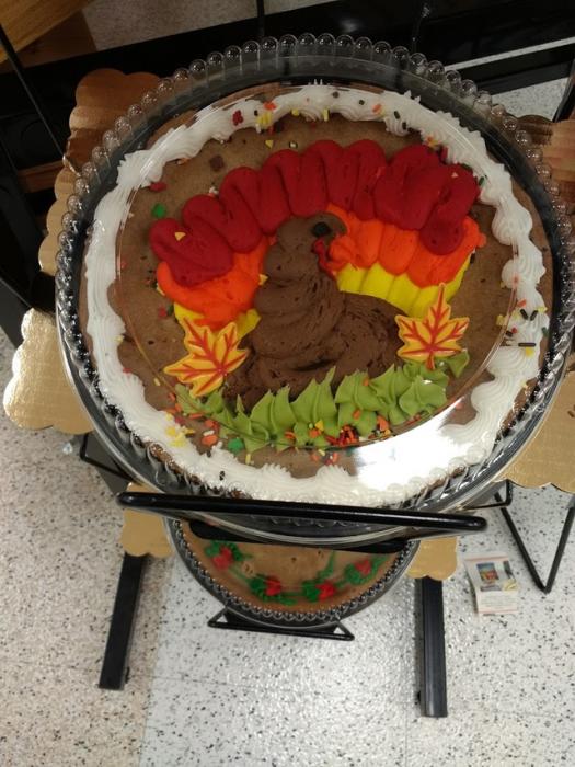 pastel de pavo mal hecho