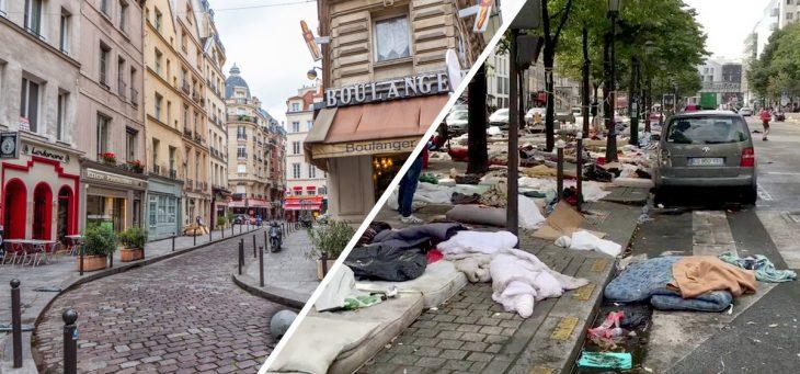 lo bonito y lo feo de París, Francia