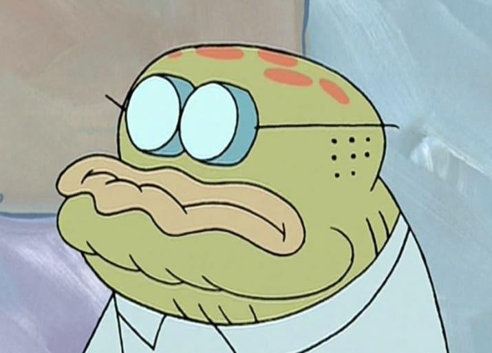 pez bob esponja