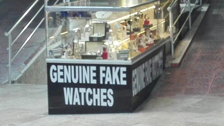 local donde venden relojes falsos genuinos