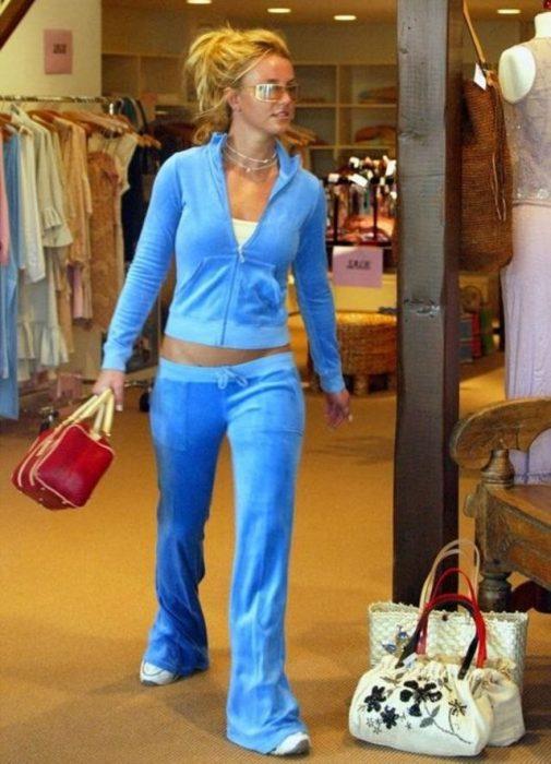 pants azul