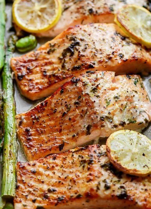 platillo de salmón
