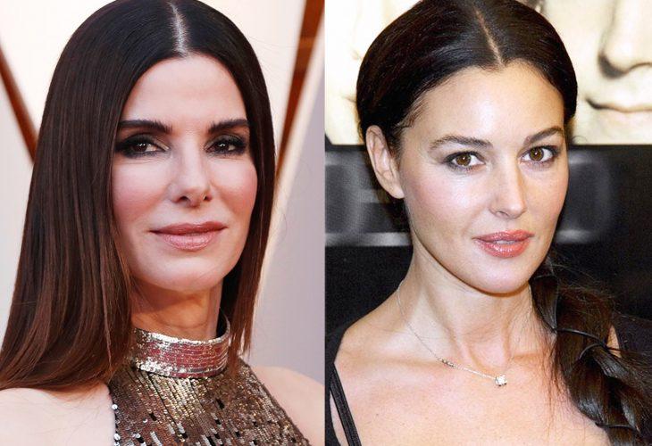 comparación entre Sandra Bullocj y Monica Bellucci
