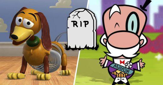 Cover Personajes animados que por lógica, ya deberían estar muertos