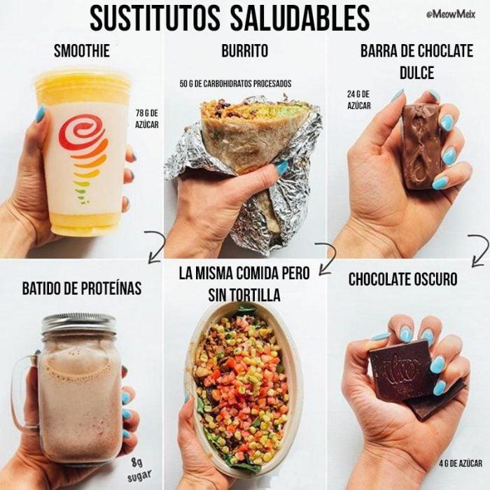comida rápida vs comida hecha en casa