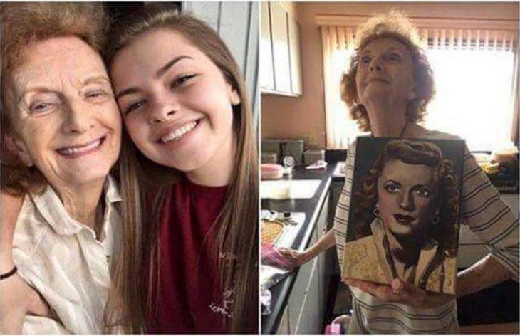 abuelita y nieta