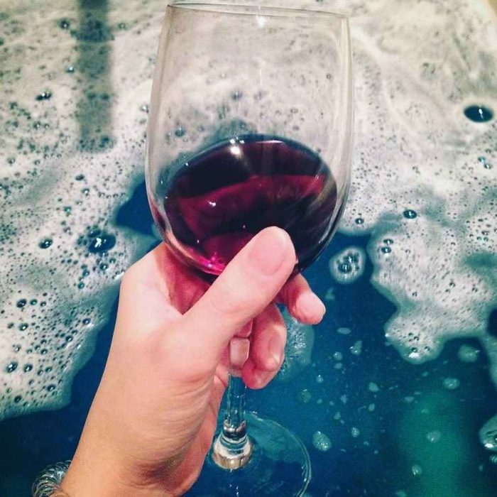 bañera copa