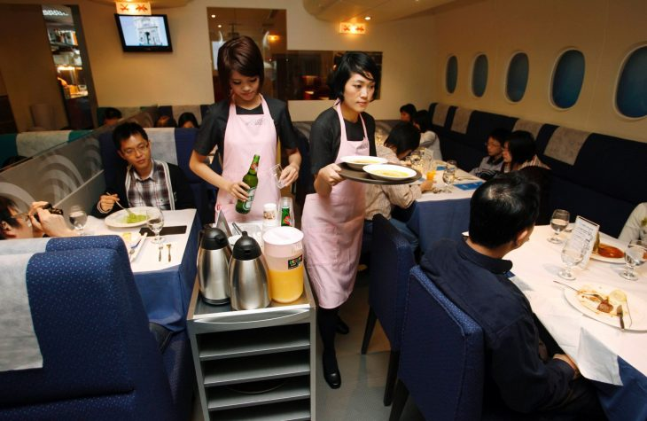 restaurante A380 In-Flight Kitchen