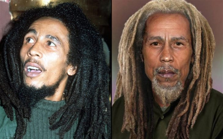 Bob Marley si fuera viejo
