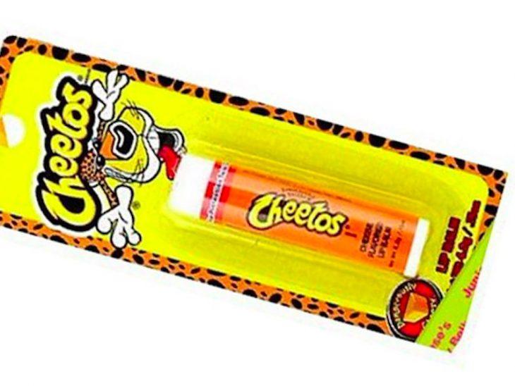 Bálsamo labial de Cheetos