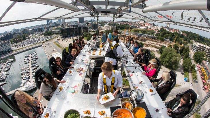 Restaurante Dinner in the sky