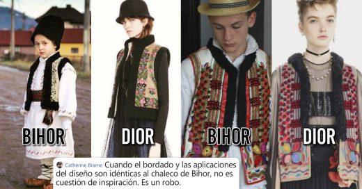 Cover Dior plagia descaradamente los diseños de la ropa tradicional de Rumania