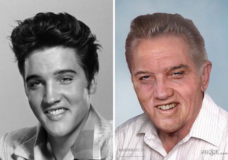 Elvis Presley si hubiera envejecido