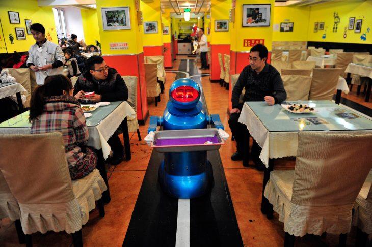 restaurante Haohai Robot
