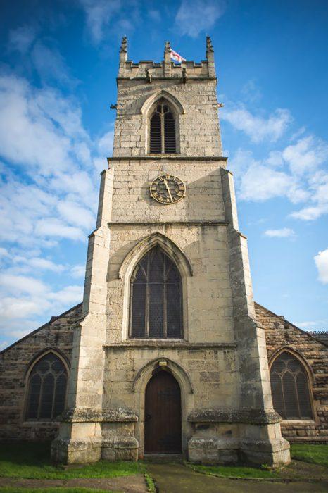 iglesia no simétrica