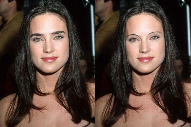 Jennifer Connelly con cejas de los 90