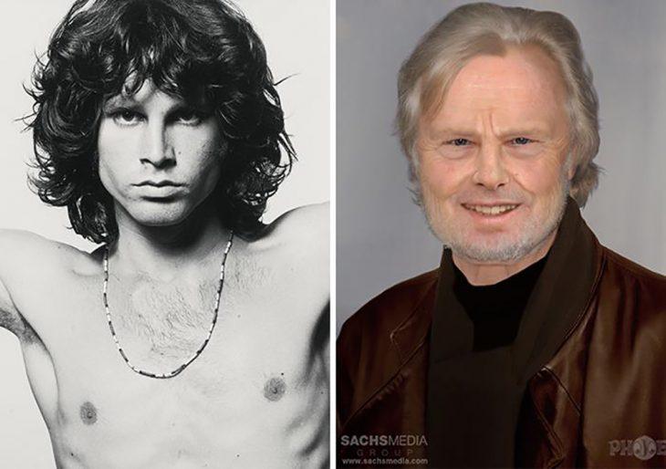Jim Morrison si hubiera envejecido