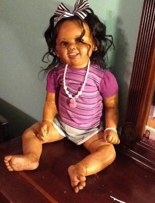 muñeca fea que asusta