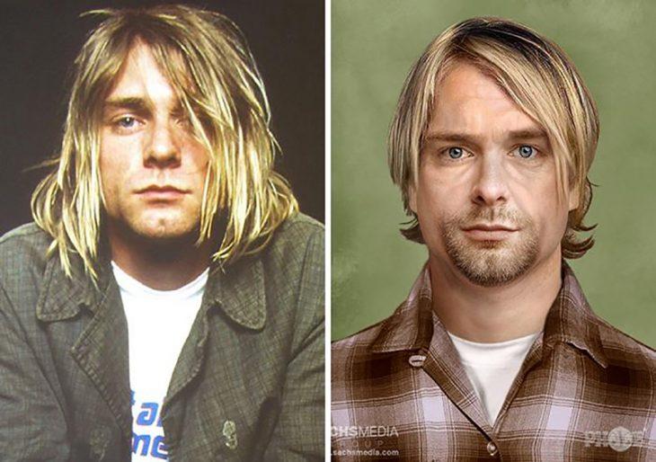 Kurt Cobain si fuera viejito