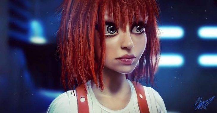 Leeloo estilo anime