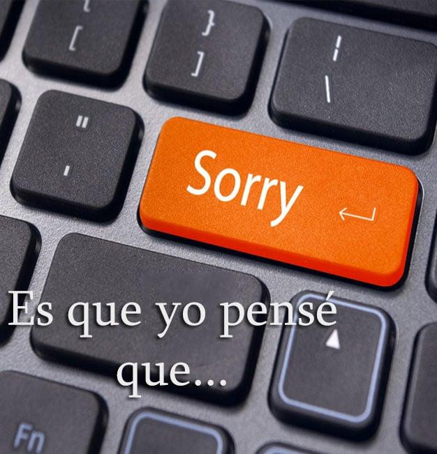 TECLADO SORRY