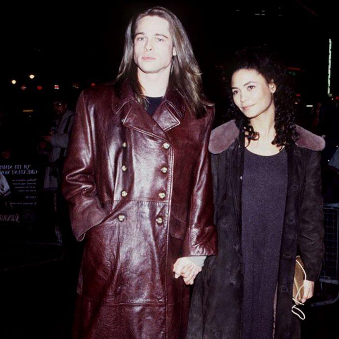 Thandie Newton y brad pitt
