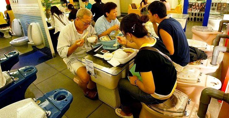restaurante Toilet Restaurant