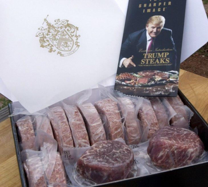 Filetes finos, Donald Trump