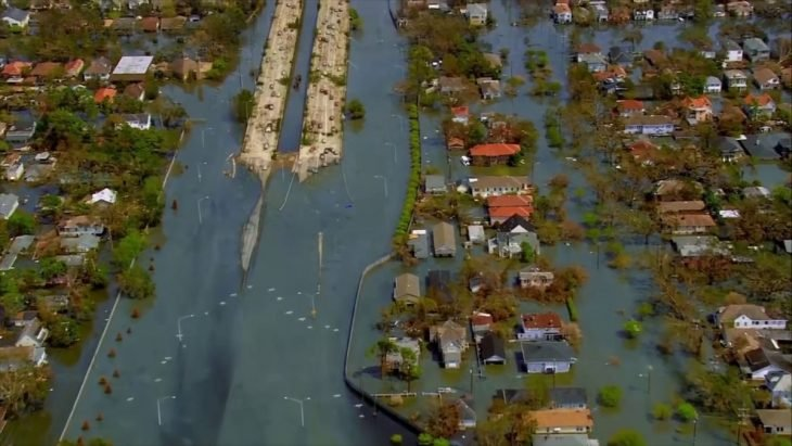 sistema de trenes inundado