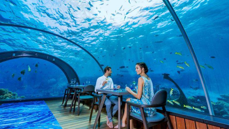 restaurante Ithaa Undersea Restaurant