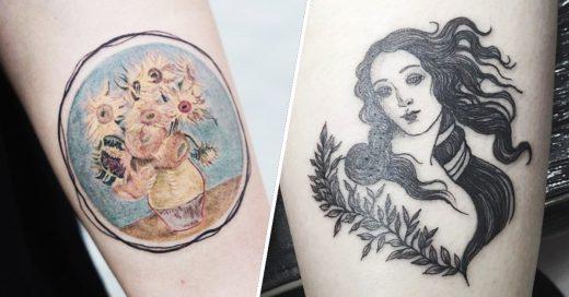 Cover Tatuajes inspirados en obras de arte