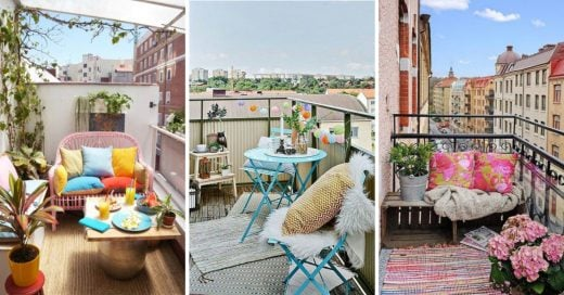 Cover Ideas para convertir tu balcón en tu lugar favorito del apartamento
