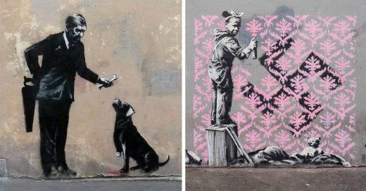 Cover Banksy vuelve a la carga con sus últimas obras en Nueva York