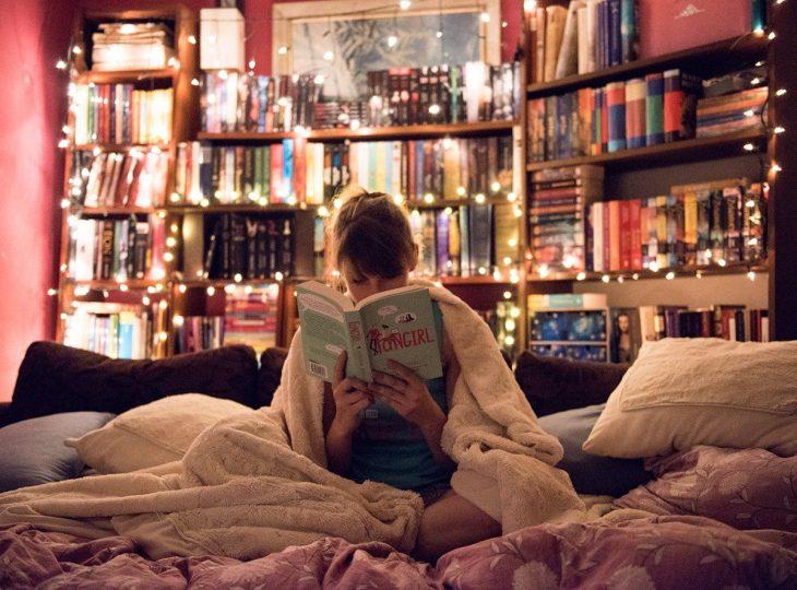 habitación biblioteca