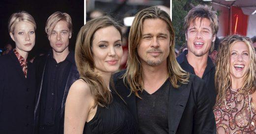 Cover Pruebas de que a Brad Pitt le gusta parecerse a sus parejas