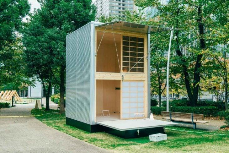 pequeña casa japonesa