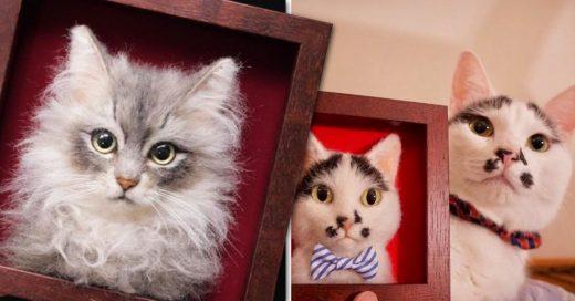 Cover Artista japonesa crea obras hiperrealistas de gatos