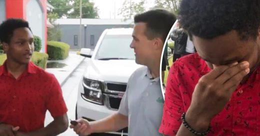 Cover Joven camina 32 km para no llegar tarde a su nuevo empleo y su jefe le da un auto