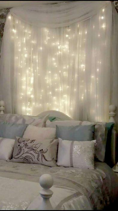 cortina de luz de cabecera