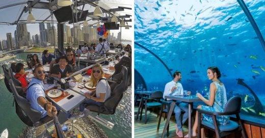 Cover Los 15 restaurantes más raros del mundo