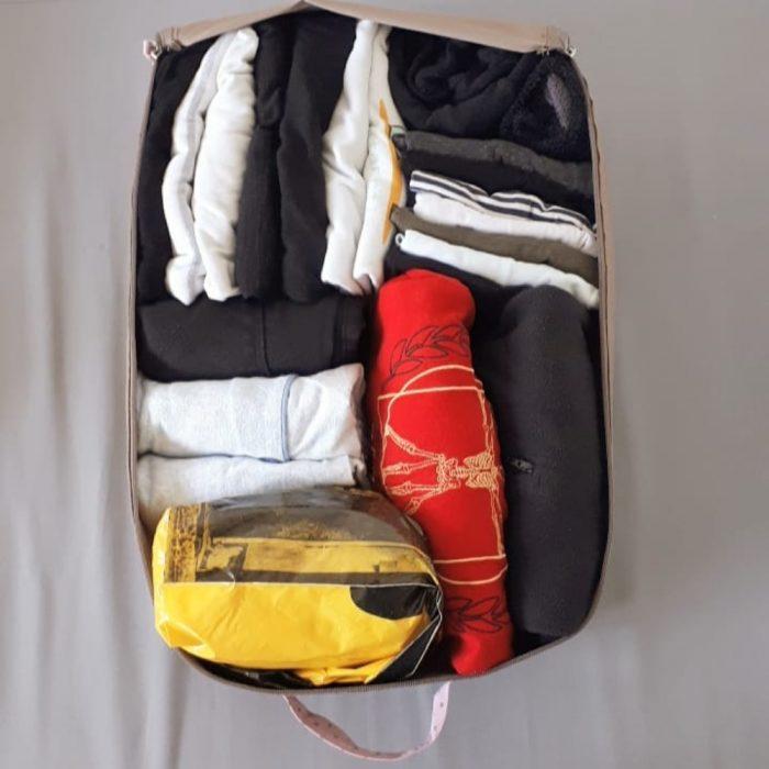 acomodo de maleta