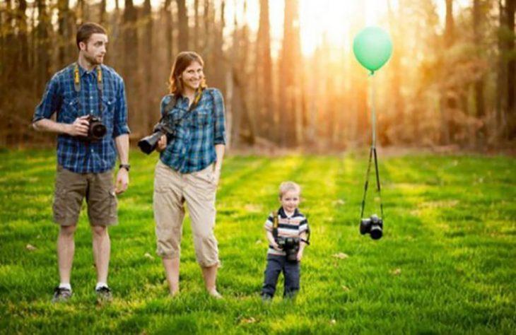 anuncio de embarazo pequeño fotógrafo