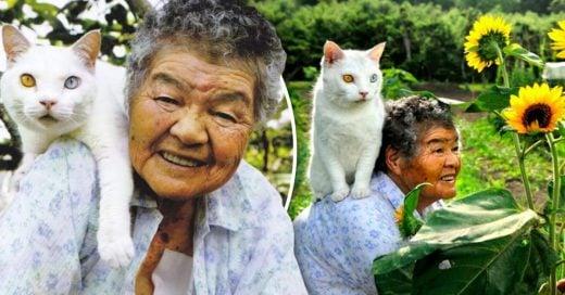 Cover Esta anciana y su gato de compañía pasaron sus últimos años juntos