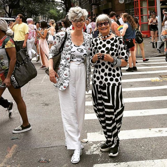 Jean & Valerie fashionistas