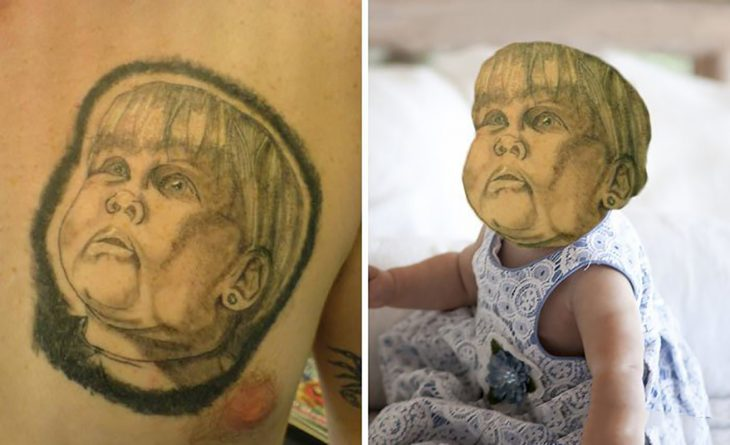 tatuaje feo de bebé