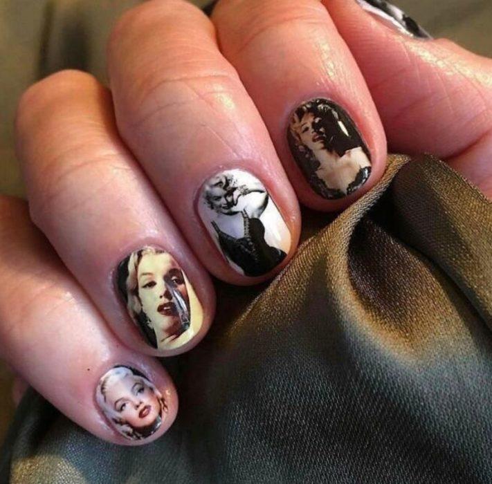 uñas de marilyn monroe