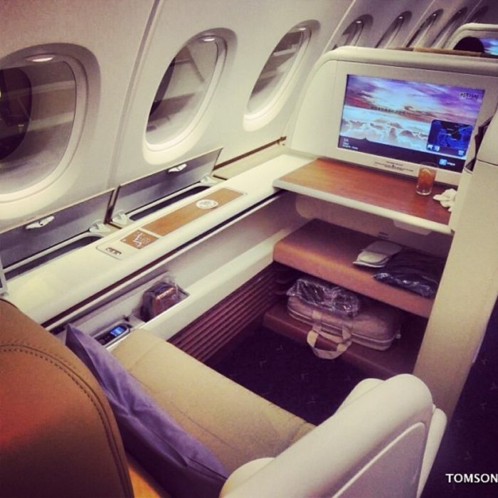 buen asiento en avión